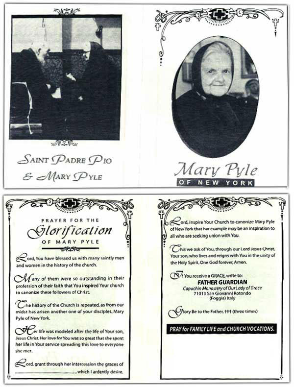 prayer for mary pyle